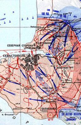 Немецкая хроника боев за Севастополь (1942)